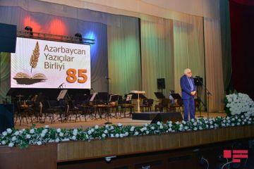 """Azərbaycan Yazıçılar Birliyinin 85 illiyi qeyd edilib - <span style=""""color: red"""">Fotolar</span>"""