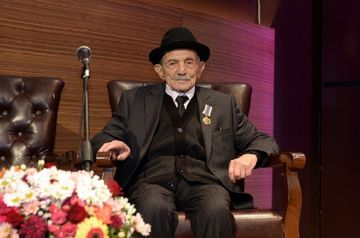 """""""Şöhrət"""" ordenli şairin 100 illik yubileyi keçirildi - <span style=""""color: red"""">Fotolar</span>"""
