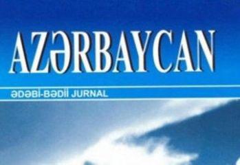 """""""Azərbaycan"""" jurnalının yeni sayı"""