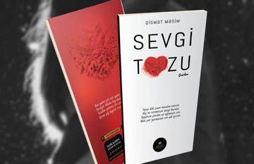 "Yeni şeir kitabı: <span style=""color: red"">""Sevgi tozu""</span>"