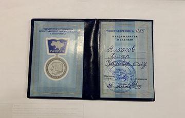 """Azərbaycanlı alim """"Qoqol"""" medalı ilə təltif edildi"""