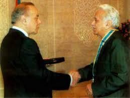 """Image result for heydər Əliyev və bəxtiyar vahabzadə"""""""